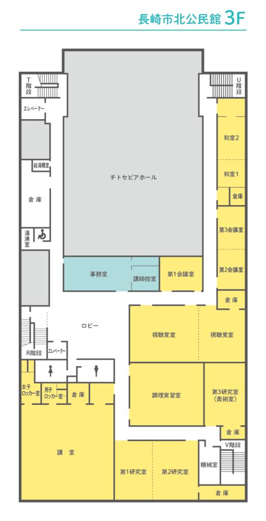長崎市北公民館3F